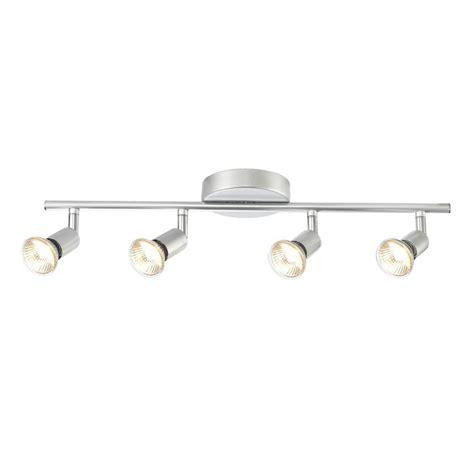 globe electric payton 4 light matte silver adjustable