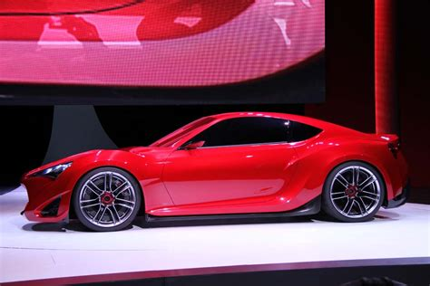 frs car first look scion frs 86 concept thedetroitbureau com