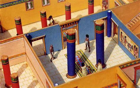 """Aueverlag """"Ägyptisches Wohnhaus"""" Detail"""