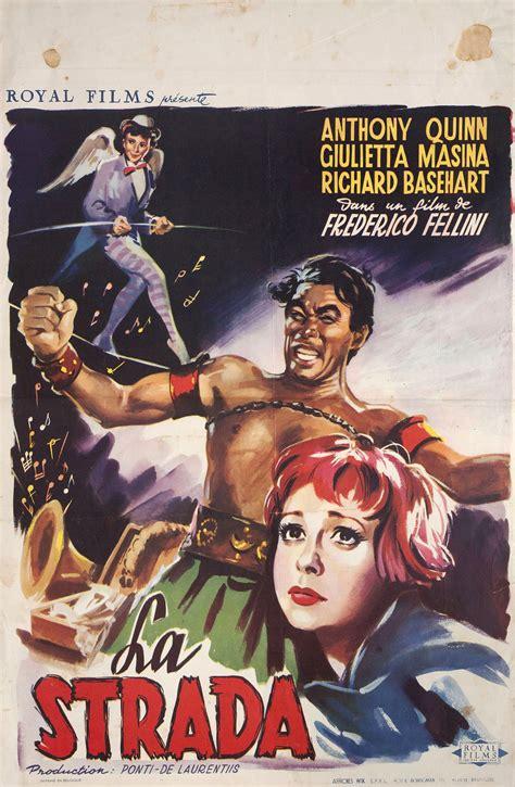 La Strada 1954 Belgian Poster  Posteritati Movie Poster Gallery  New York