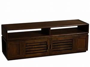 Meuble Bébé Pas Cher : meuble tv pas cher vente unique meuble tv talang teck massif ventes pas ~ Teatrodelosmanantiales.com Idées de Décoration