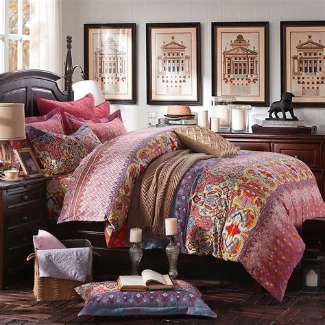 bohemian style comforter sets bohemian bedding sets hippie bohemian bedding set