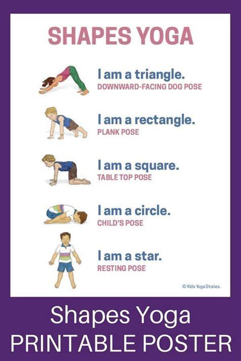 shapes yoga   teach shapes  movement