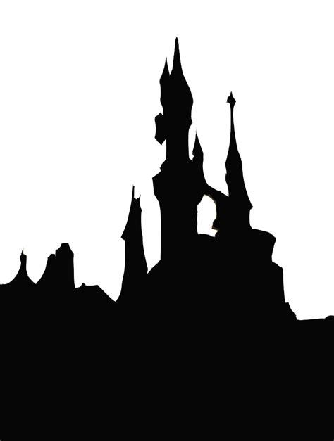 castle silhouette  clipartioncom