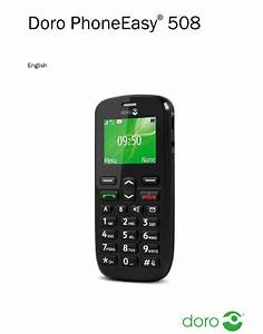 Doro Phoneeasy 508 User Manual