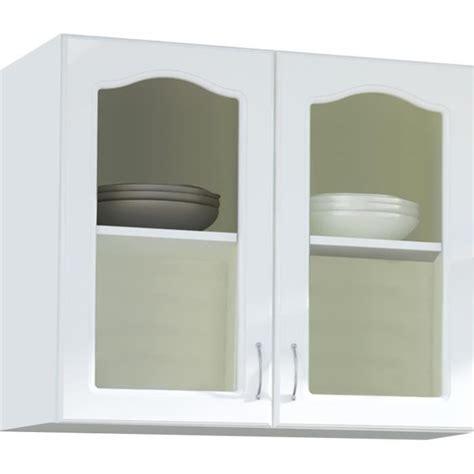 meuble haut vitré cuisine meuble haut cuisine vitree achat vente pas cher