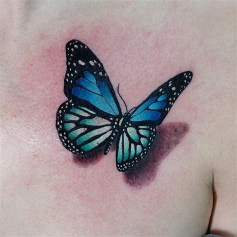 blue butterfly tattoo tattoo blue butterfly tattoo
