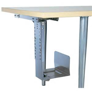 under desk computer tower holder 360 176 rotatable black from