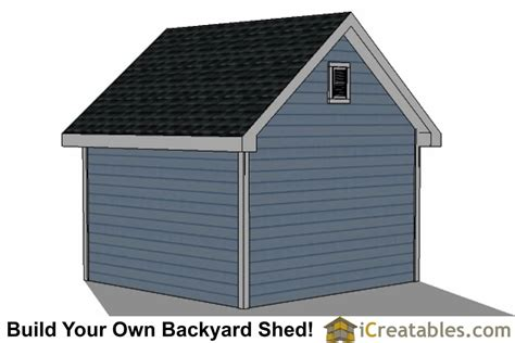 12 X 12 Storage Shed Plans Free by 12x12 Traditional Backyard Shed Plans