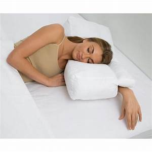 better sleep pillow gel fiber pillow patented arm tunnel With better sleep pillow for side sleepers