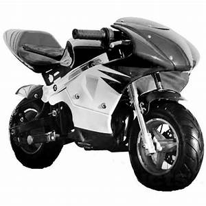 High Performance Honda Clone 4 Stroke 40cc Black Pocket Mini Bike In Stock