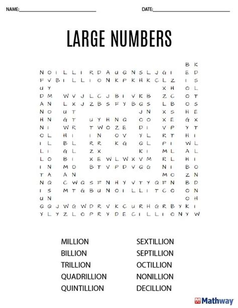 27 best images about math word search activities on