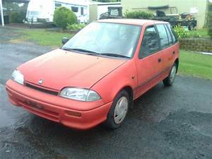 1993 Holden Barina Mh 5 Sp Manual 1 3l Carb Bonnet
