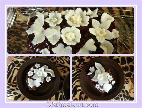 faire decoration gateau chocolat visuel 9