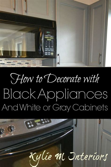 17 best ideas about kitchen black appliances on