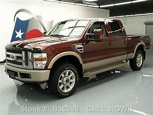 Find Used 2008 Ford F250 King Ranch 4x4 Diesel Sunroof Tow
