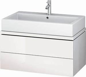 Lavabo Pour Toilette : duravit l cube meubles meuble sous lavabo pour plan de ~ Edinachiropracticcenter.com Idées de Décoration