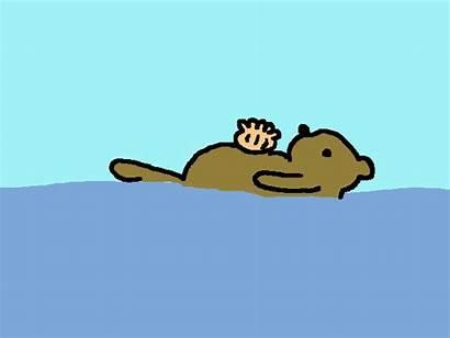 Birthday Mom Otter Animated Card Whitney Houston