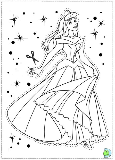printable sleeping beauty coloring pages