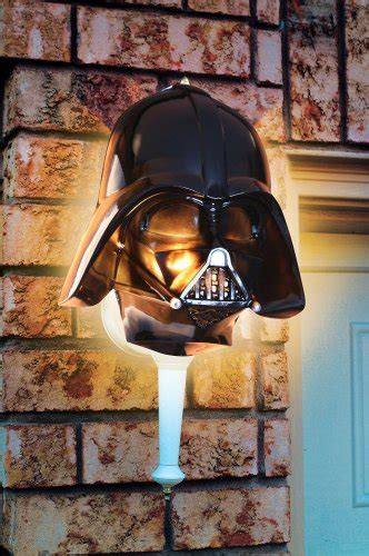 Join the Dark Side with a Darth Vader Porch Light Cover ...