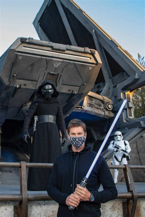PHOTOS: MVP Tom Brady Finally Visits Disney's Hollywood ...