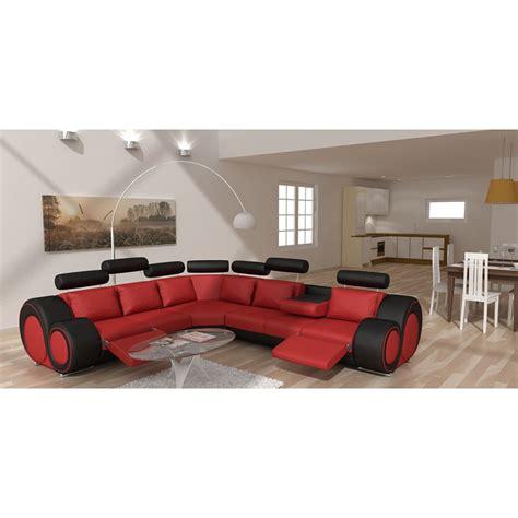 canapé cuir veritable canapé d 39 angle en cuir véritable rolls pop design fr