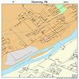 Wyoming Pennsylvania Street Map 4286856