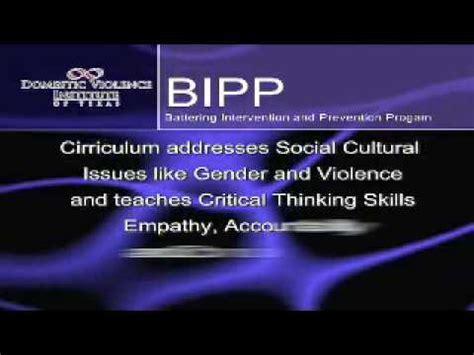 battering intervention  prevention program bipp