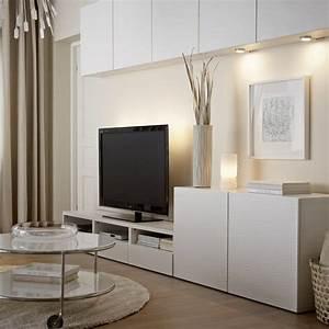 Ikea Meuble De Tv : meuble tv avec rangements ikea deco pinterest ~ Melissatoandfro.com Idées de Décoration