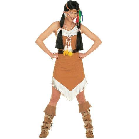 pocahontas kostüm damen indianer kost 252 m pocahontas f 252 r damen n 228 hen deguisement indienne location costume und id 233 es