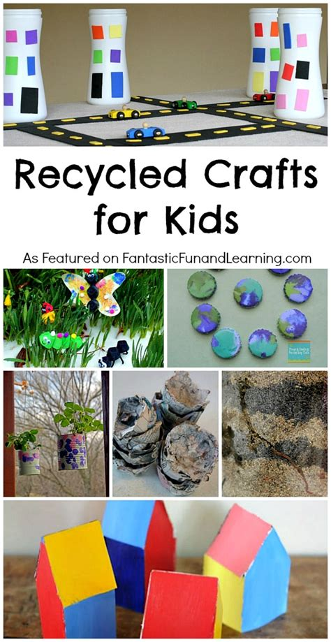 recycled crafts  kids