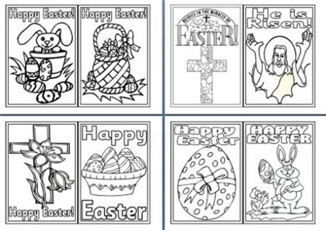 easter colouring pages religious  secular
