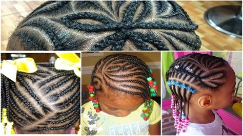 Beautiful Black Little Girl Hairstyles With Braids 2017