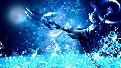 Akali Legends League Wallpapers Silverfang Text Without