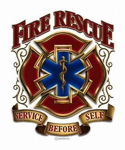 Fire Rescue Firefighter Ems Cross Maltese Department