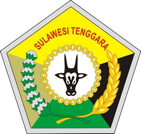 lambang provinsi sulawesi tenggara kumpulan logo indonesia