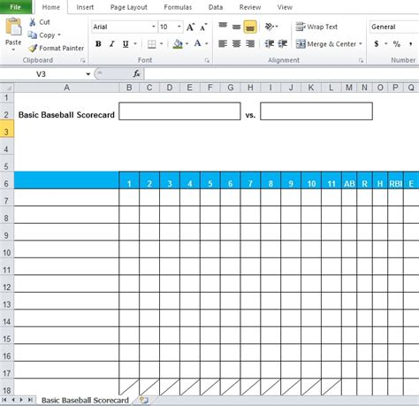 statistics template baseball stats spreadsheet excel template excel tmp