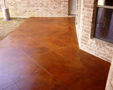 dallas real estate concrete porch improvement