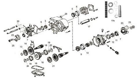 Jeep Exploded Diagram by 7 Best Jeep Transfer Parts Images On