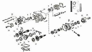 Transfer Case Dana Spicer 20 Exploded View Diagram The