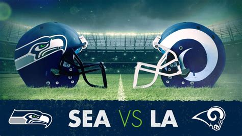 updates los angeles rams  seattle seahawks