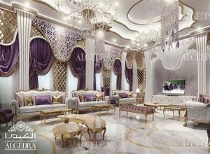 Women Majlis Design - Best Interior Decoration by Algedra