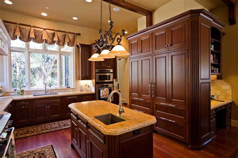 custom kitchen island design  sink bay area
