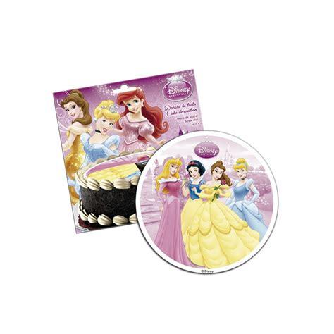 disque de p 226 te 224 sucre princesse disney 16cm dekora