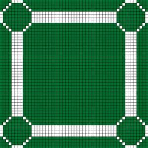 Minecraft Castle Layout Grid Paint