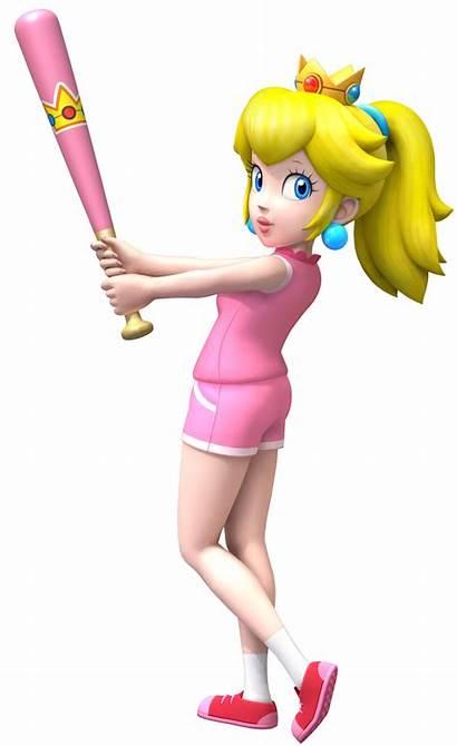 Peach Princess Mario Baseball Wikia Wiki Fandom