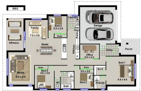 house plan  modern  bedroom house plan  bed modern style house plan modern house plan