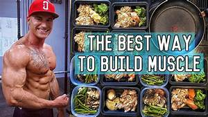 The Perfect Muscle Building Diet