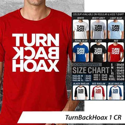 Kaos T Shirt Keren jual kaos oceanseven keren t shirt keren turn back hoax 1
