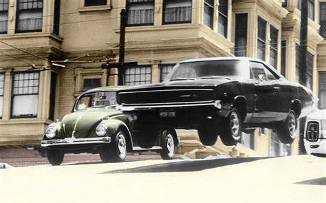 Faster than Bullitt: 1968 Ford Mustang vs 1968 Dodge Charger